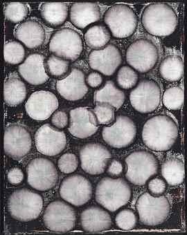 Ross Bleckner-Study for Cell Painting-1992