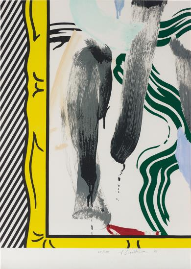 Roy Lichtenstein-Against Apartheid-1983