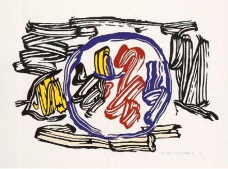 Roy Lichtenstein-Apple and Lemon-1983