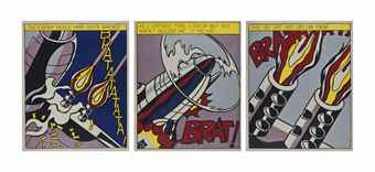 Roy Lichtenstein-As I Opened Fire-1966