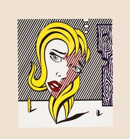 Roy Lichtenstein-Blonde-1978