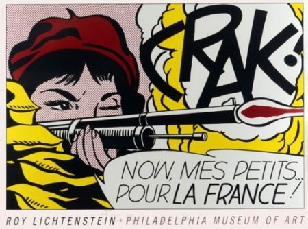 Roy Lichtenstein-Crak! (Philadelphia museum of art poster)-1989