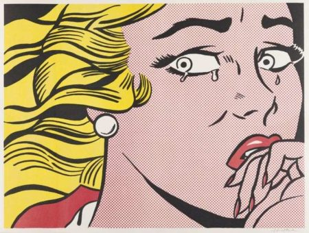 Roy Lichtenstein-Crying Girl-1963