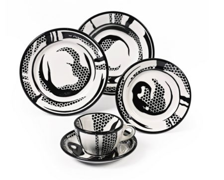 Roy Lichtenstein-Dinnerware-One Setting-