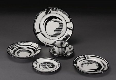 Roy Lichtenstein-Dinnerware: Six Settings-1966