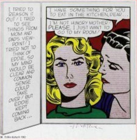 Roy Lichtenstein-Eddie-1970