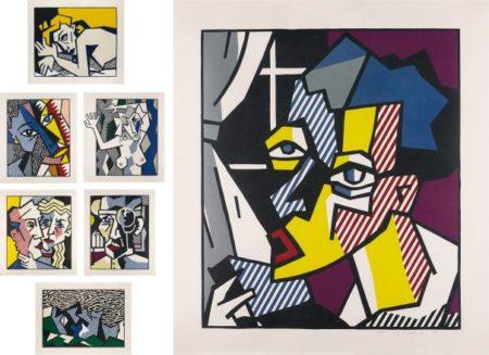 Roy Lichtenstein-Expressionist Woodcut Series-1980
