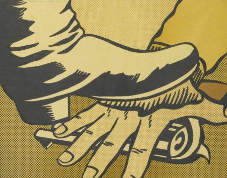 Roy Lichtenstein-Foot And Hand-1964