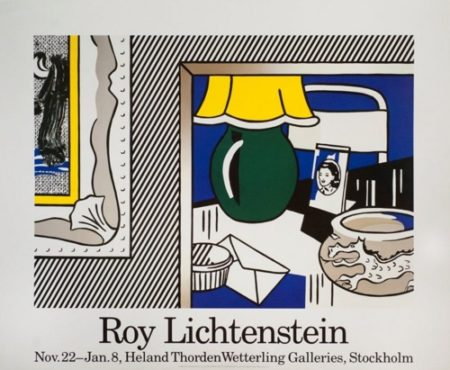 Roy Lichtenstein-Green Lamp-1986