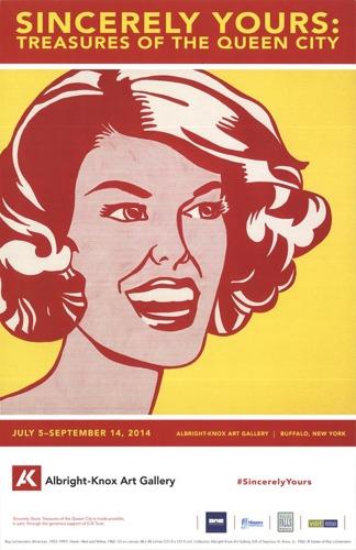 Roy Lichtenstein-Head-Red and Yellow-