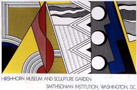 Roy Lichtenstein-Hirshhorn Museum and Sculpture Garden, Smithsonian Institution, Washington-1987