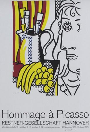 Roy Lichtenstein-Hommage a Picasso-1973