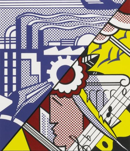 Roy Lichtenstein-Industry And The Arts (II) (Corlett 86)-1969