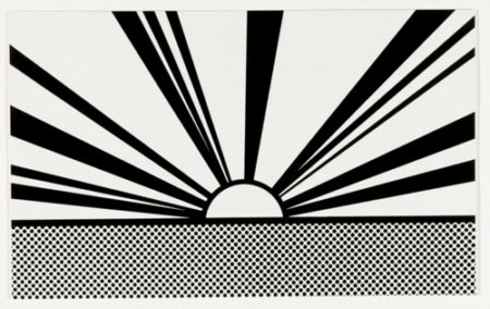 Roy Lichtenstein-Landscape 4, from the Ten Landscapes portfolio-1967