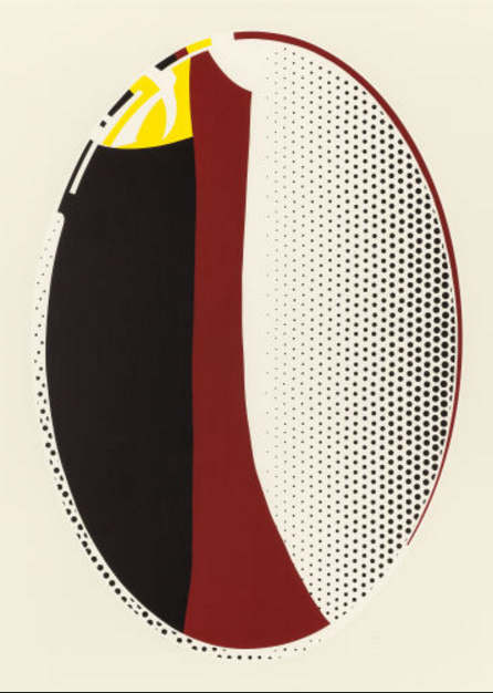 Roy Lichtenstein-Mirror #6-1972