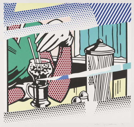 Roy Lichtenstein-Reflections On Soda Fountain-1991