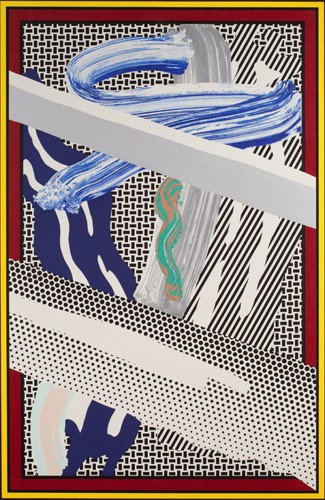 Roy Lichtenstein-Relfections on Expressionist Painting-1990