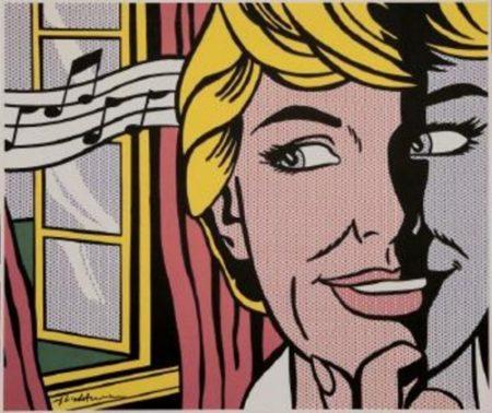 Roy Lichtenstein-Sound of Music (Julie Andrews)-