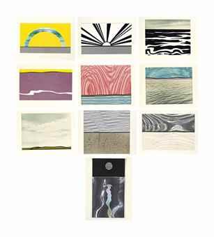 Roy Lichtenstein-Ten Landscapes-1967