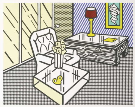 Roy Lichtenstein-The Den-1990