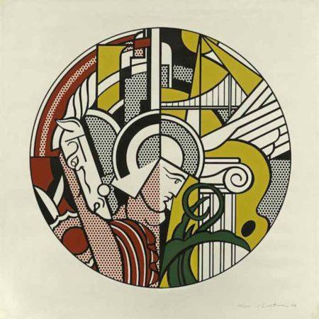 Roy Lichtenstein-The Solomon R. Guggenheim Museum Poster-1969