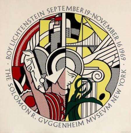 Roy Lichtenstein-The Solomon R. Guggenheim Museum Poster (C. III.25)-1969