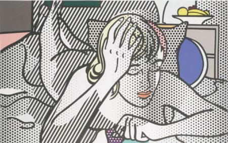 Roy Lichtenstein-Thinking Nude-1994