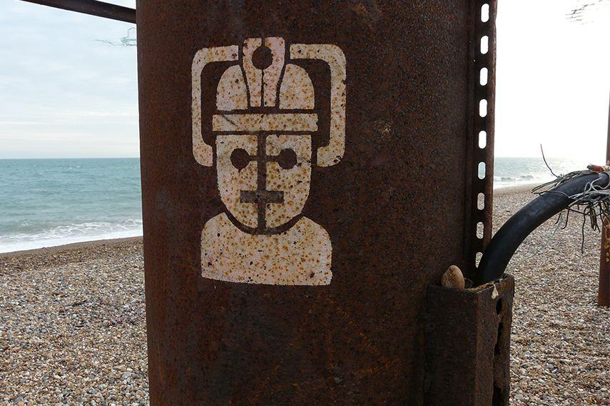 Cyberman stencil quote gift travel view fan free smith