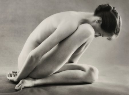 Ruth Bernhard-Folding-1962