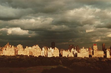 Ruth Orkin-Dark Clouds over 5th Ave., N.Y.C.-1981