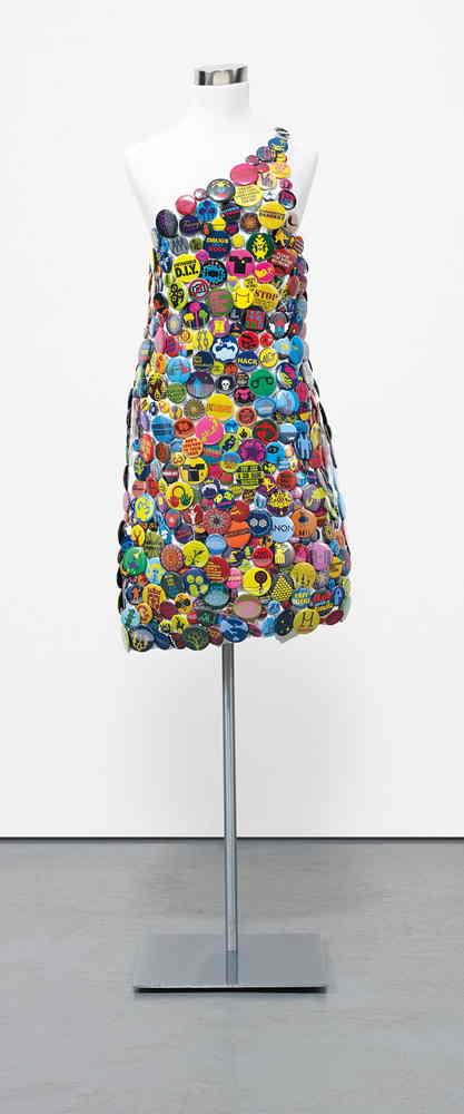 Ryan McGinness-Button Dress-2007