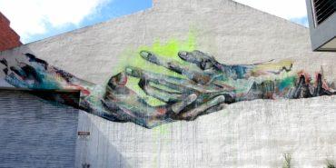 SENEKT - mural in Melboulne, Australia, 2014 - image via the artist's official site