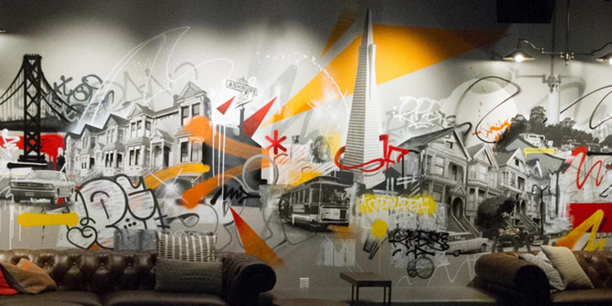 SPIN - mural