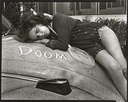 Sally Mann-Untitled (Ianna and Doom), from At Twelve Series-1985