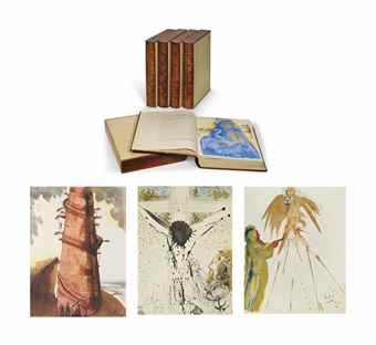 Salvador Dali-Biblia Sacra, Milan, Rizzoli, 1967-