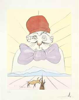 Salvador Dali-Japanese Fairy Tales, Gerschman, Stockholm-1974