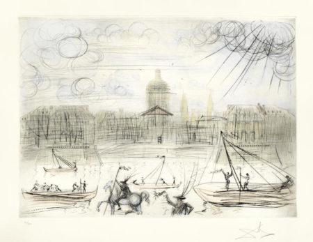 Salvador Dali-L'Academie de Paris-1971