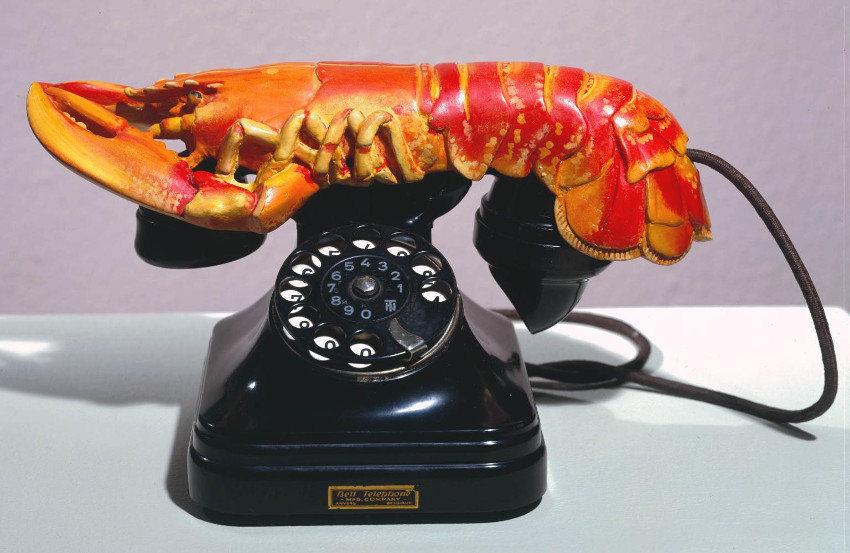 Salvador Dali - Lobster Telephone, 1936