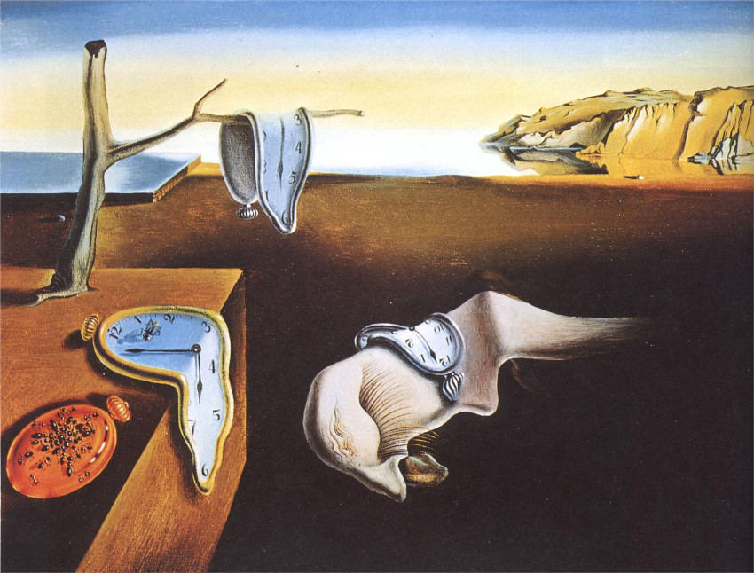 Salvador Dali movement paintings can be found today in the museum store