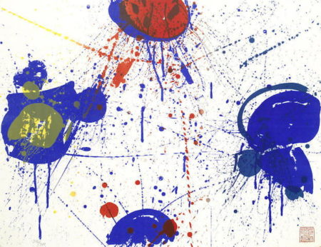 Sam Francis-The Upper Red-1963