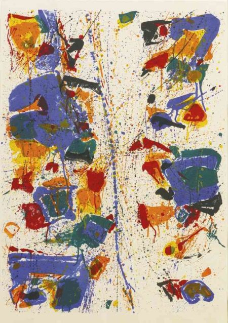 Sam Francis-The White Line-1960