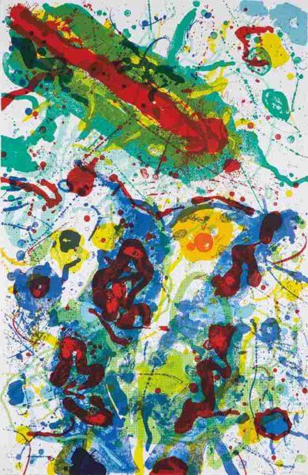 Sam Francis-Untitled SF-341-1989