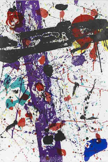 Sam Francis-Untitled from Eight by Eight to Celebrate the Temporary Contemporary-1984