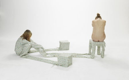 Sandra Kunz-Three Stools #1-2010