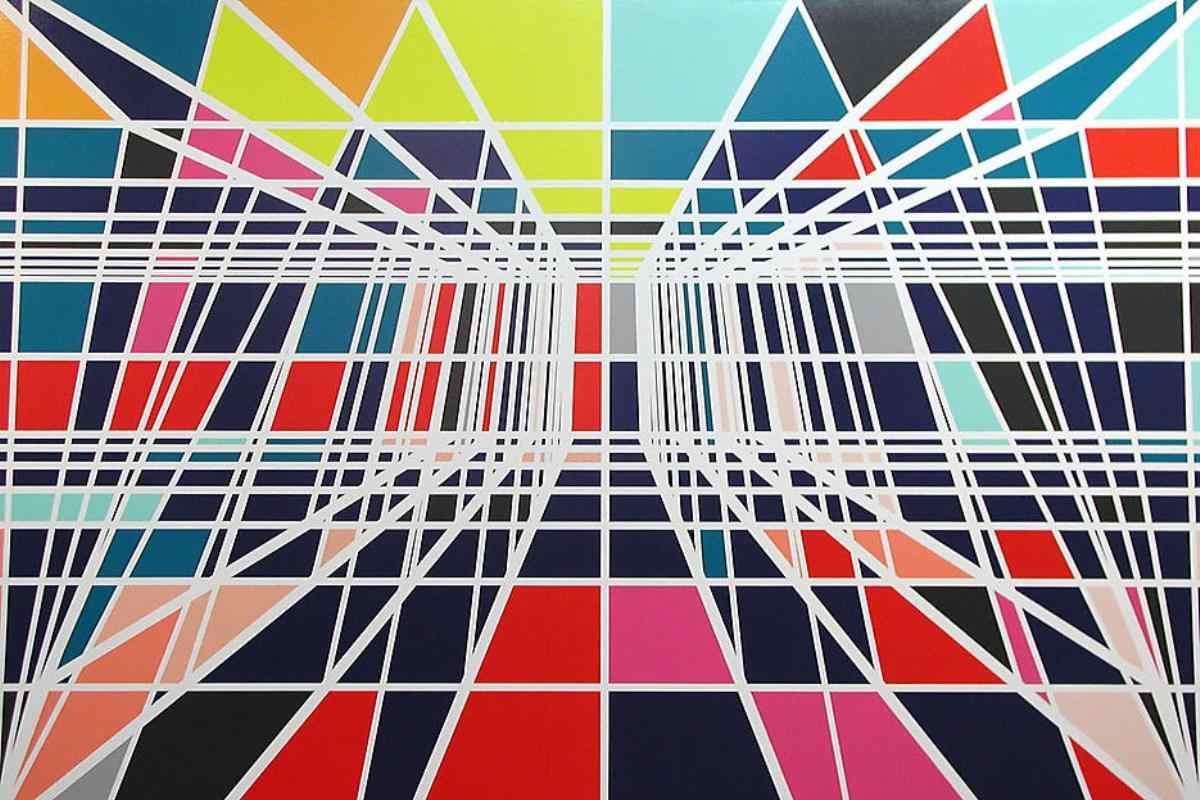 Famous Straight Line Artists : Famous pattern artists names you must know widewalls
