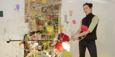 Sarah Sze, photo credit John D. & Catherine T. MacArthur Foundation