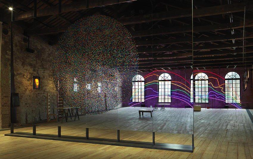 Sarkis - Respiro, exhibition at the Turkish Pavillon, 2015, modern search
