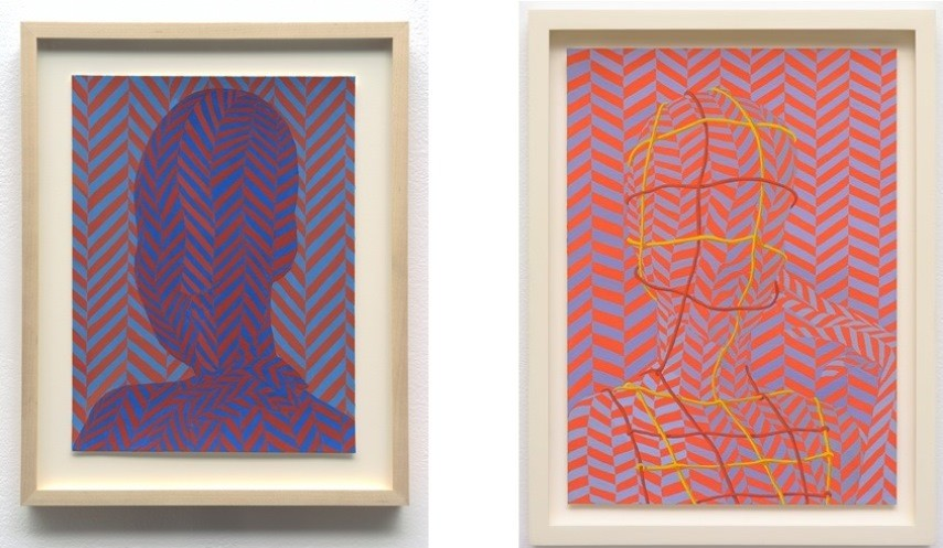 Left: 30.5 x 22.9 cm. (12 x 9 in.) / Right: 35.5 x 25.4 cm. (14 x 10 in.)