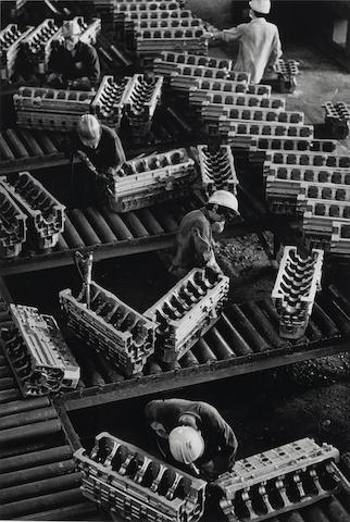 Sebastiao Salgado-Shih-Yen Foundry, Hupei Province, China-1989