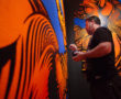 Murals and Installations at The Long Beach Museum of Art in collab with Thinkspace and POW! WOW!